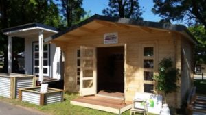 9m² and 20m² backyard cabins at Canberra Home Show