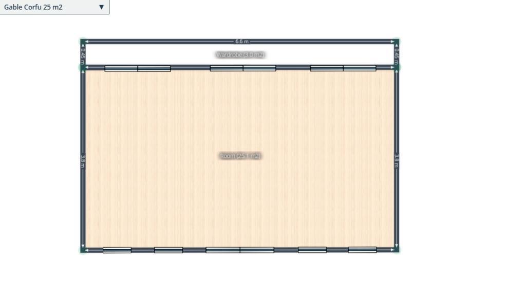 Craft room floor plan