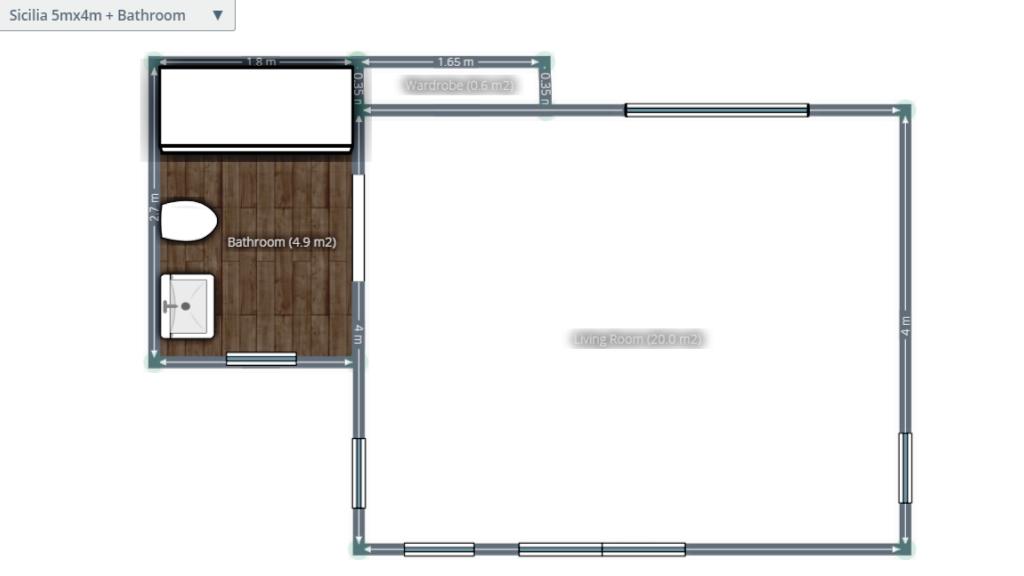 Customized Sicilia floor plan