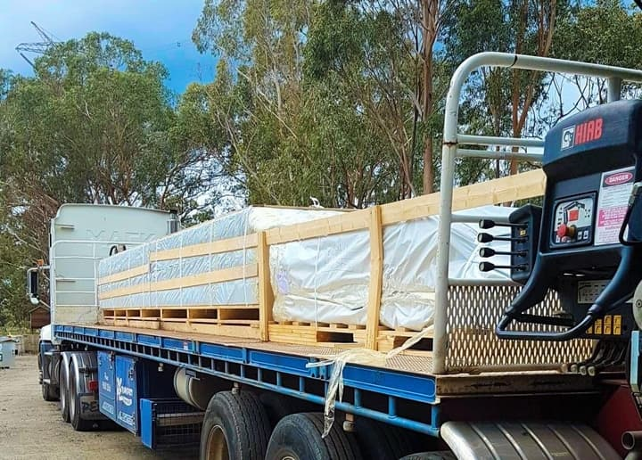 Delivery of Sicilia Panorama 30 pallets