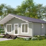 granny flat Capri right view