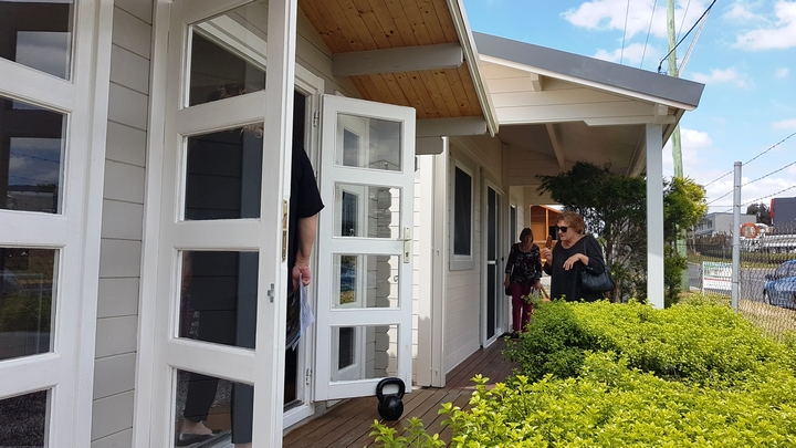 Granny Flat Cyprus and Backyard Cabin Crete at display Grand Opening Canberra