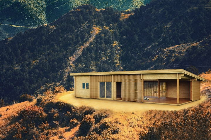 Granny Flat Madeira in Mountains Ultra-modern design