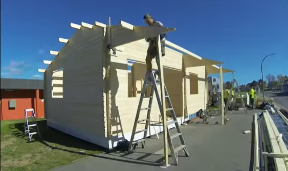 Granny flat building day 2 Canberra, 2016