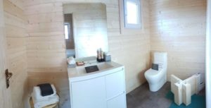Granny flat Cyprus Canberra Home-Show 2016, Bathroom panorama
