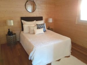 Granny flat Cyprus Canberra Home-Show 2016, bedroom