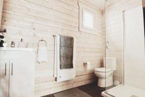 Granny flat Cyprus display village 2017, bathroom