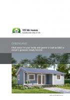 Granny flat Greenland 57 m² brochure