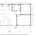 Granny flat Rhodes floor plan