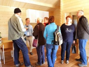 Inside granny flat at Canberra home show 2016
