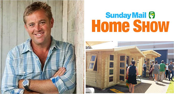 """Jason Hodges from """"Better homes and gardens"""""""