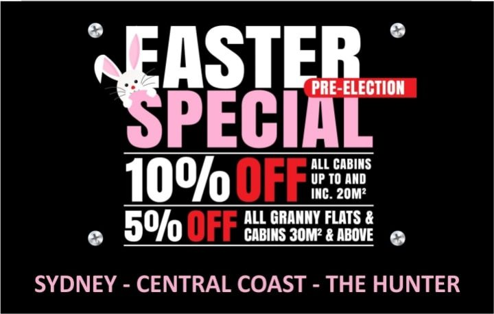 Pre-election Easter Sale 2019