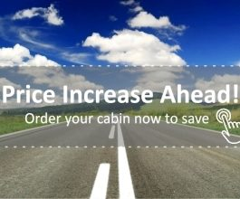 Order now and beat cabins price increase on 2 July 2018-News