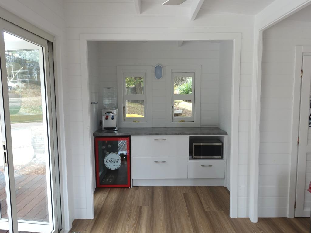 Teenage retreat, Central Coast, kitchen
