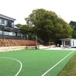Teenage retreat, Central Coast, side view