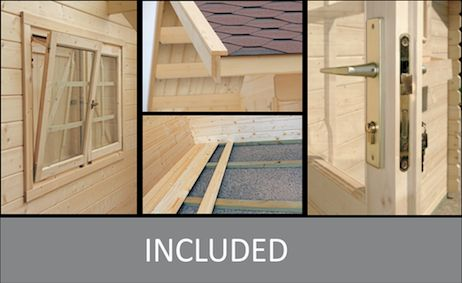 YZY backyard cabin inclusions